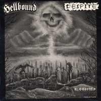 HELLBOUND / DESPITE - Split  LP
